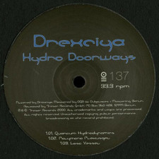 "Drexciya - Hydro Doorways - 12"" Vinyl"