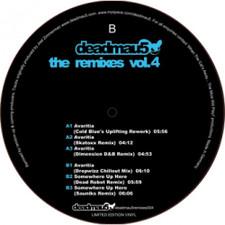 """Deadmau5 - The Remixes Vol. 4 - 12"""" Vinyl"""