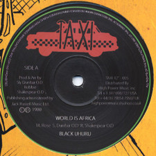 "Black Uhuru - World is Africa - 12"" Vinyl"