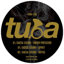 """Daega Sound - Under Pressure - 12"""" Vinyl"""