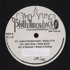 "Various Artists - Da Philly Throwback Ep Vol.2 - 12"" Vinyl"