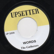 "Gatherers - Words - 7"" Vinyl"