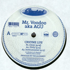 "Mr. Voodoo - Crhyme Life / Lyrical Tactics Pt. 2 - 12"" Vinyl"