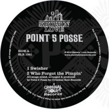 "Point 5 Posse - Swisher - 12"" Vinyl"