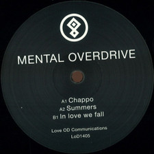 "Mental Overdrive - In Love We Fall - 12"" Vinyl"