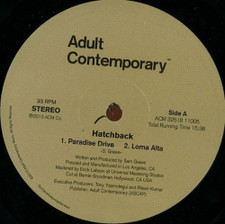 "Hatchback - Marin County - 12"" Vinyl"