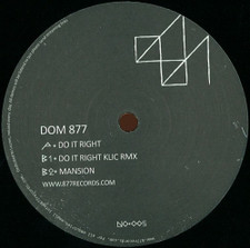 "Dom 877 - Do It Right - 12"" Vinyl"