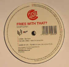 "Various Artists - Eats Everything Presents Fries With That? Sampler01 - 12"" Vinyl"