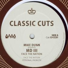 "Mike Dunn - Face the Nation - 12"" Vinyl"