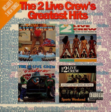 The 2 Live Crew - Greatest Hits - 2x LP Vinyl