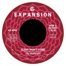 "The Moments - Sleep Won't Come - 7"" Vinyl"