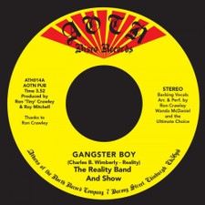 """The Reality Band & Show - Gangster Boy - 7"""" Vinyl"""