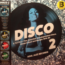 Various Artists - Disco 2 (Independent Disco, Modern Soul & Boogie 1976-80) Pt. B - 2x LP Vinyl