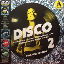 Various Artists - Disco 2 (Independent Disco, Modern Soul & Boogie 1976-80) Pt. A - 2x LP Vinyl