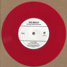 "Bob Marley - No Water / It's Alright - 7"" Red Vinyl"