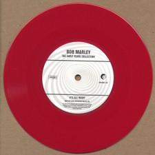 "Bob Marley - No Water / It's Alright - 7"" Red Vinyl"