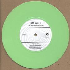 "Bob Marley - Brain Washing / Rebels Hop - 7"" Green Vinyl"