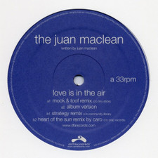 "The Juan Maclean - Love Is In The Air - 12"" Vinyl"