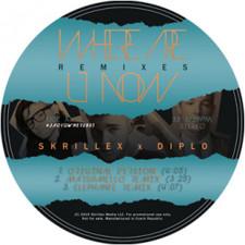 "Skrillex & Diplo - Where Are U Now - 12"" Vinyl"