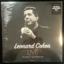 Leonard Cohen - Live At The Complex Los Angeles 1993 - LP Vinyl
