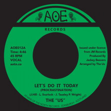 """The """"Us"""" - Let's Do It Today / Peace - 7"""" Vinyl"""