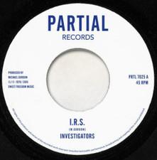 """Investigators - IRS - 7"""" Vinyl"""