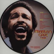 Marvin Gaye - Marvin Gaye Live! - LP Picture Disc Vinyl