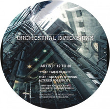 "12 to 30 - Orchestral Dimensions - 12"" Vinyl"