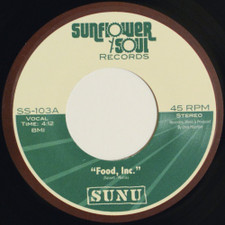 "SUNU - Food, Inc / Liberation - 7"" Vinyl"