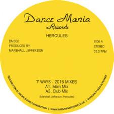 """Hercules - 7 Ways (2016 Mixes) - 12"""" Vinyl"""