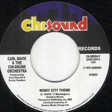 "Carl Davis & The Chi-Sound Orchestra - Windy City Theme - 7"" Vinyl"