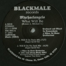 "Mychaelangelo - What Will Be / Funky Beat - 12"" Vinyl"