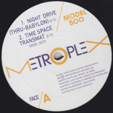 "Model 500 - Night Drive / No UFO's - 12"" Vinyl"
