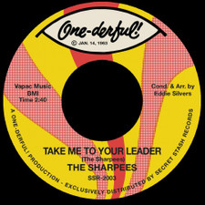 """The Sharpees - Take Me To Your Leader - 7"""" Vinyl"""