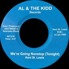 """Keni St. Lewis - We're Going Nonstop (Tonight) - 7"""" Vinyl"""