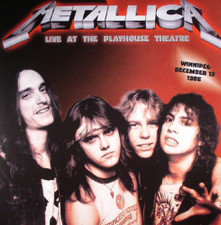 Metallica - Live At The Playhouse Theatre Winnepeg 12/13/86 - 2x LP Vinyl