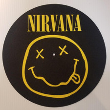 Nirvana - Smiley Face - Single Slipmat