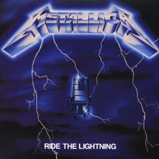 Metallica - Ride the Lightning - LP Vinyl