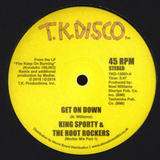 "King Sporty & The Root Rockers - Get On Down (Medlar Mixes) - 12"" Vinyl"
