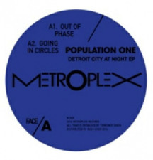 "Population One - Detroit City At Night Ep - 12"" Vinyl"