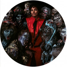 Michael Jackson - Thriller Zombies - Single Slipmat