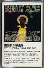 Gregory Isaacs - Best of Vols. One And Two - Cassette