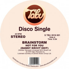 "Brainstorm - Hot For You / Journey Into The Light (Danny Krivit Edits) - 12"" Vinyl"