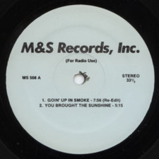 "Mr. K - Going Up In Smoke - 12"" Vinyl"