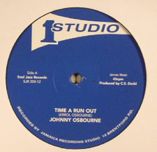 "Johnny Osbourne / Heptones & The Sound Dimension - Time A Run Out / Got To Fight On - 12"" Vinyl"