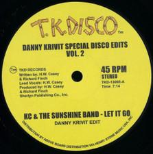"""Danny Krivit - Special Disco Edits Vol. 2 - 12"""" Vinyl"""