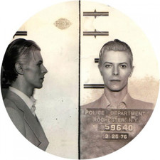 David Bowie - Mugshot - Single Slipmat