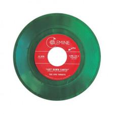 """The Jive Turkeys - Get Down Santa / Funky Jesus - 7"""" Colored Vinyl"""