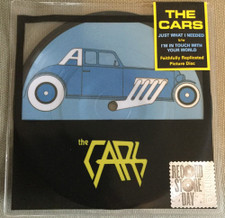 "The Cars - Just What I Needed / I'm In Touch With Your World RSD - 7"" Picture Disc Vinyl"