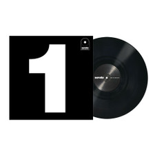 Serato Performance Series - Control Vinyl Black Single - LP Vinyl